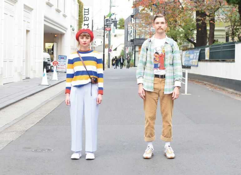 COUPLE STREET SNAP